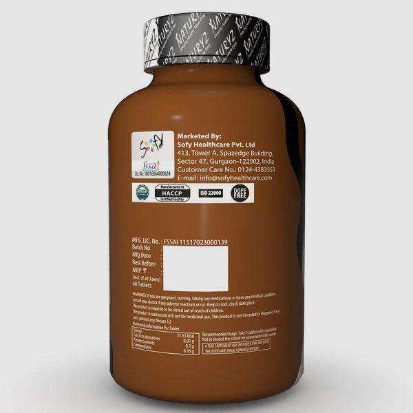 naturys men's sports supplements
