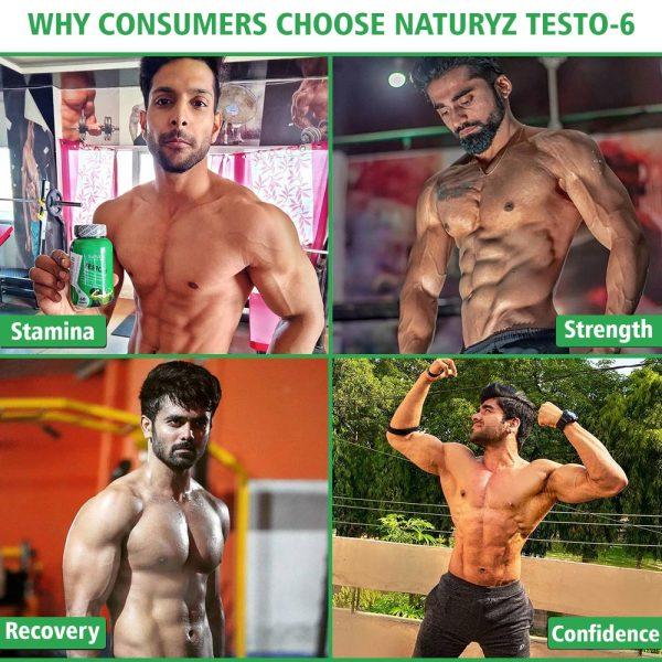 why consumers choose naturyz testo 6
