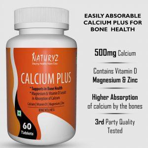 naturyz calcium plus 60 tablets