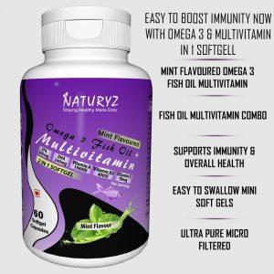 naturyz omega 3 fish oil + multivitamin