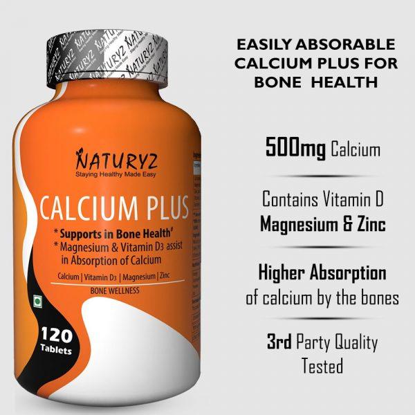 naturyz calcium plus for bone health