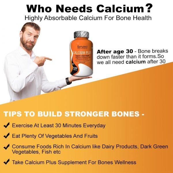 why needs calcium?