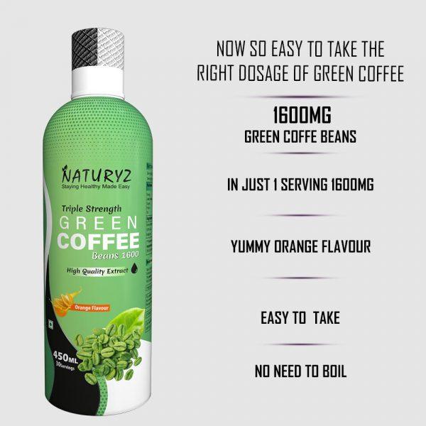 naturyz green coffee beans 1600