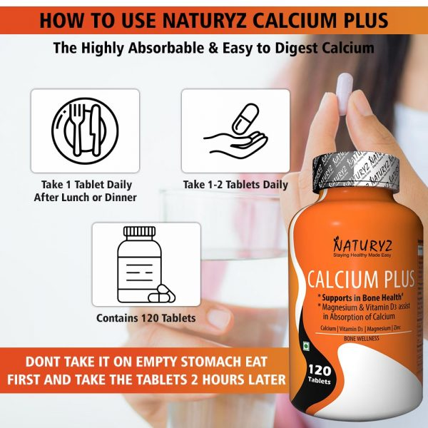 how to use naturyz calcium plus