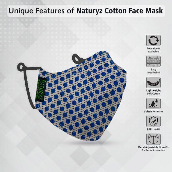lightweight soft cotton face mask