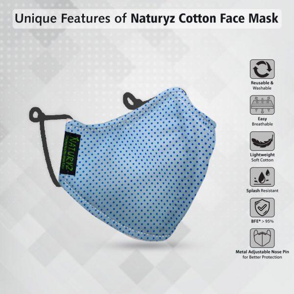 naturyz cotton face mask for men and women