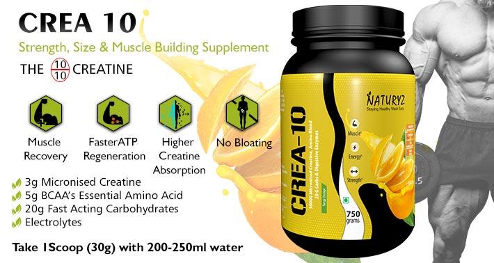 crea 10 muscle building supplement