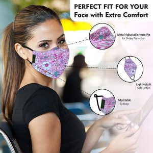women face mask with extra comfort