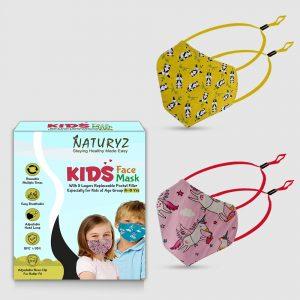 naturyz kids face mask pack of 2