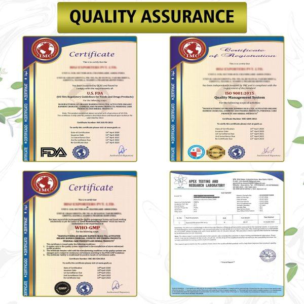quality assurance naturyz certificate
