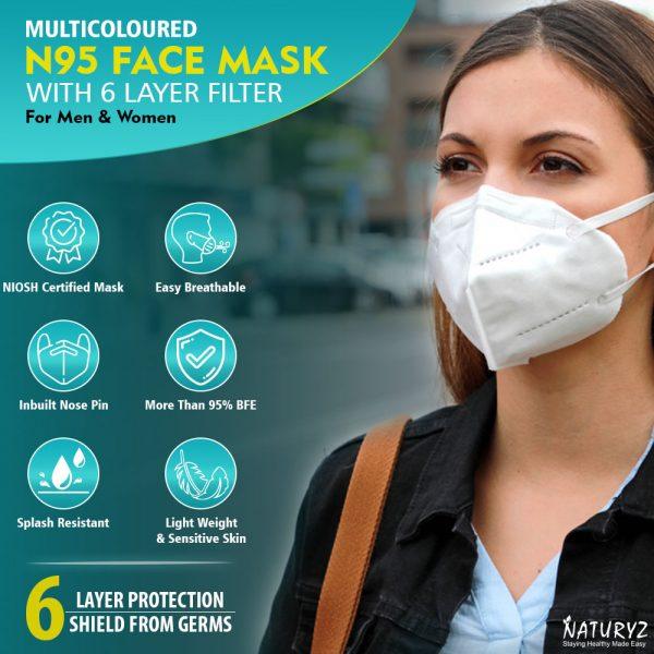 multi color face mask for men ands women