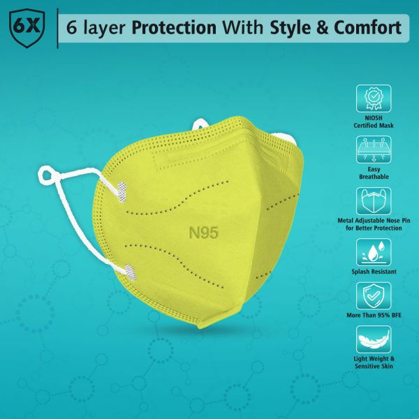 face mask with style and comfort