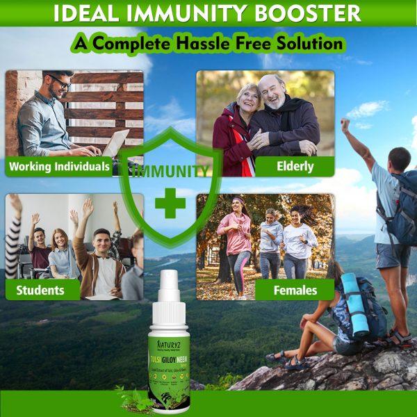 natural immunity booster spray